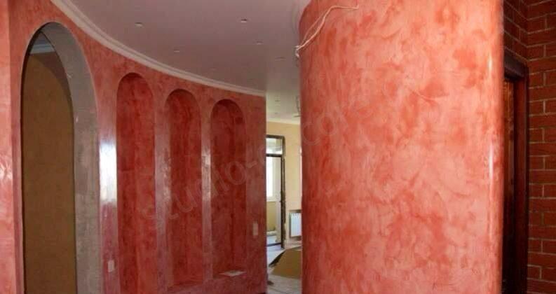 Studio decore -декоративная отделка стен, нанесение декор....